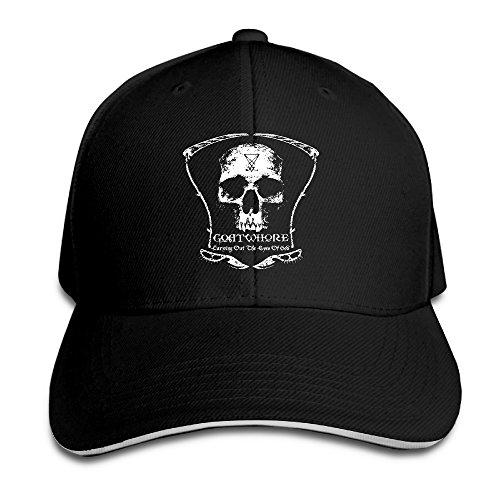WENCY -  Cappellino da baseball  - Uomo Black Taglia unica