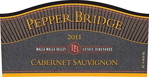 2011 Pepper Bridge Winery Walla Walla Valley Cabernet Sauvignon 750 Ml