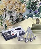 72PC FC4801 Heart Shaped Measuring Spoons Wedding Baby Shower Favors & Accessori