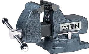 drehbarer Schraubstock mit Amboss gehärtete Backen, 150 mm  BaumarktBewertungen