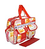 #10: Bey Bee - Mama's Bag {Diaper Bag} (Red)