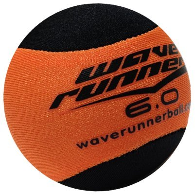 Wave Runner Water Runner Skipping Ball, Orange
