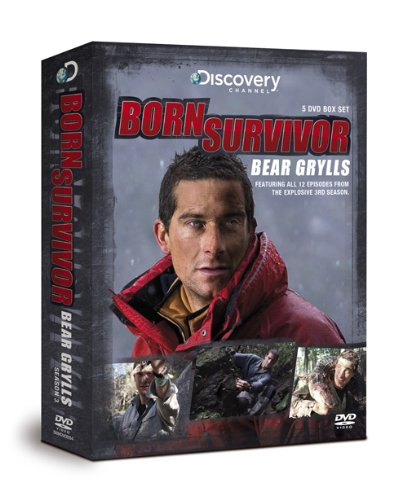 Born Survivor Bear Grylls: The Complete Series 3 Box Set [DVD]