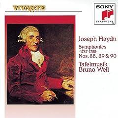Haydn: Symphonies Nos. 88, 89, 90 [US-Import]