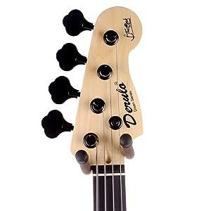GLEAM Guitar Hanger - Wall Mount Bracket Holder (1 pack)