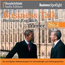 Business Talk English Vol. 2 Hörbuch von  N.N. Gesprochen von:  div.