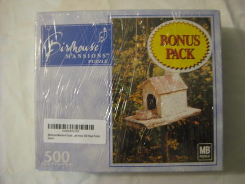 Birdhouse Mansions Puzzle 'Home Sweet Home' 500 Piece Puzzle - 1