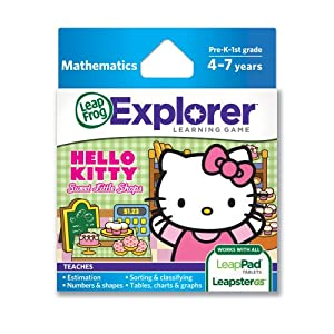 LeapFrog Explorer Spiel: Hello Kitty Sweet Little Shops (f�r LeapPad und Leapster) [UK Import] Englische Sprache