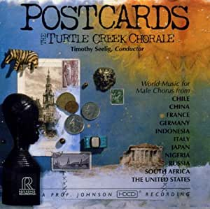 Postcards: World Music for Male Chorus