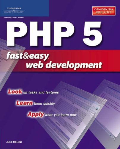 PHP 5 Fast & Easy Web Development
