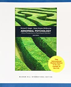 Abnormal Psychology: Clinical Perspectives on Psychological Disorders