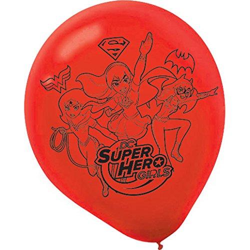 Dc-Super-Hero-Girls-Balloons-Pack-Of-6