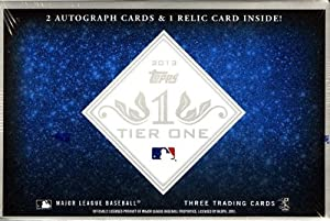 MLB 2013 Topps Tier One Baseball Trading Cards by Topps