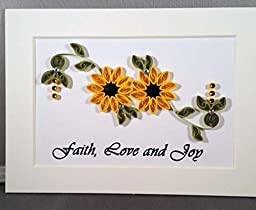 Sunflowers Floral Design - Faith, Love & Joy