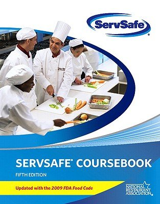 ServSafe CourseBook with Paper/Pencil Answer Sheet Update...
