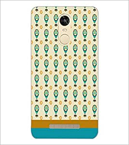 PrintDhaba Owl pattern D-1841 Back Case Cover for XIAOMI REDMI NOTE 3 (Multi-Coloured)