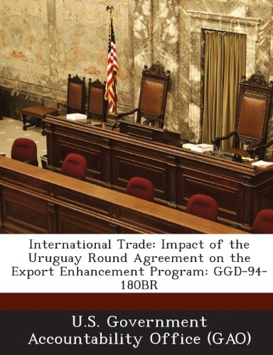 International Trade: Impact of the Uruguay Round Agreement on the Export Enhancement Program: Ggd-94-180br