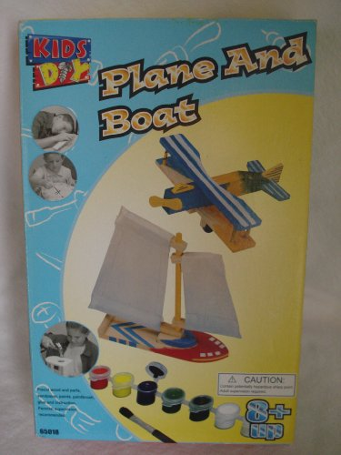 KIDS DIY Plane and Boat (Ages 8 and Up)