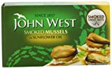 John West Smoked Mussels In Sunflower Oil 85 g (Pack of 6)