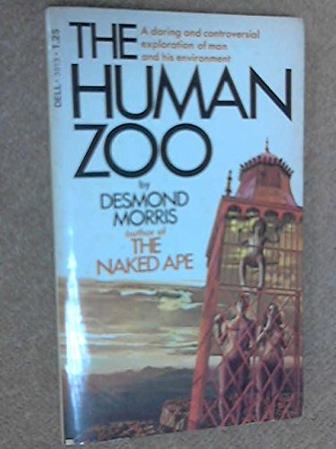 THE HUMAN ZOO by Desmond Morris (1971, Paperback) Dell 1st edition