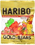 Haribo Gummy Candy - Mini Gold Bears 100 Count