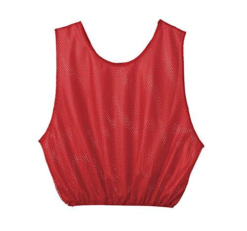 Sportime Mesh Scrimmage Vest - Adult Size - Black - 1