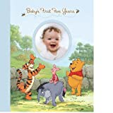 Baby Boy Pooh Disney - Baby's First Five Years Keepsake Record Book with Storage Box
