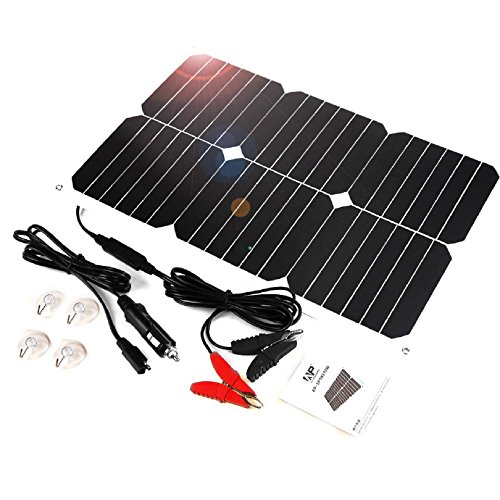 allpower solar panel battery maintainer 18v 12v 18watt. Black Bedroom Furniture Sets. Home Design Ideas