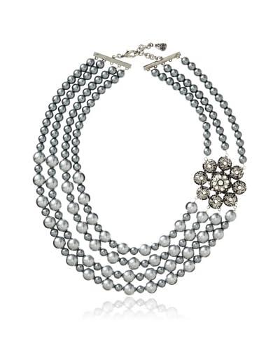 Yochi White Opal Statement Necklace