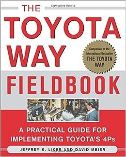 The Toyota Way Fieldbook: Jeffrey Liker, David Meier: 9780071448932