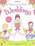 First Colouring Book Weddings (Usborne First Colouring Books)