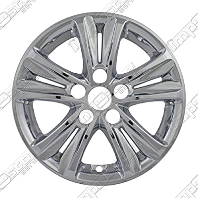WHEEL COVER Fits HYUNDAI SONATA IMPOSTOR WHEEL SKINS; CHROME FINISH; 5 SPLIT SPOKE; ABS; 16 INCH