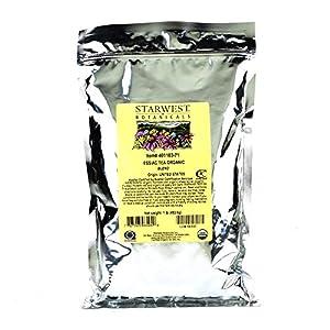 Starwest Botanicals Organic Essiac Tea, 1-pound Bag (Pack of 2)