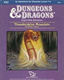 Thunderdelve Mountain: Module Xs2 (Dungeons & Dragons)