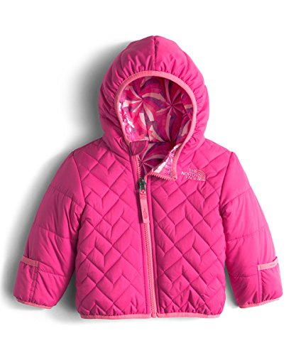 The North Face Baby Girls` Reversible Perrito Jacket - cabaret pink, 12 - 18