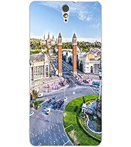 SONY XPERIA C5 CITY VIEW Back Cover by PRINTSWAG