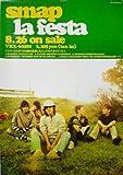 ポスター ★ SMAP 1998 ミニアルバムCD 「La Festa」 宣伝 B2