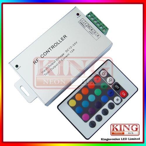 Rgb Led Aluminum Controller For Led Strip 5050 12V Dc