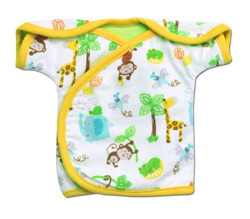 Monkey Business Iv Shirt **Nicu Approved** 2 Preemie Sizes (Tiny (2-4Lbs)) front-61187