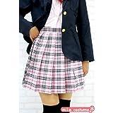 プリーツスカート【チェック柄:ピンクチェック】(Mサイズ) ■TeenS Ever ミニスカート 制服 女子高生■