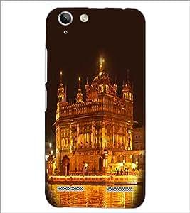 PrintDhaba Golden Temple D-1064 Back Case Cover for LENOVO A6020a46 (Multi-Coloured)