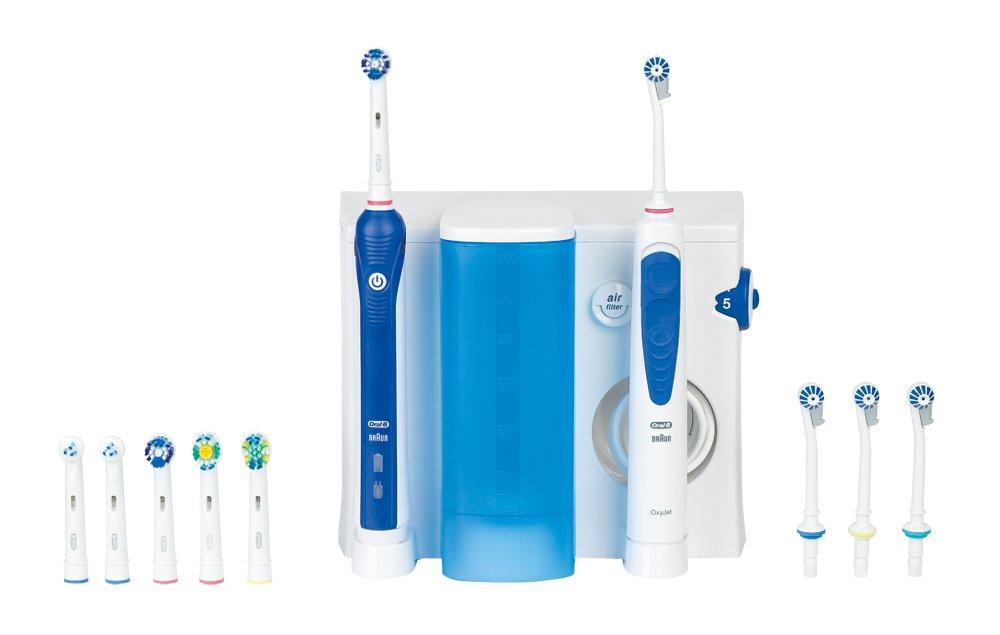 Jet dentaire et Hydropulseur ORAL B CAREOXYJET PLUS3000 BLANC