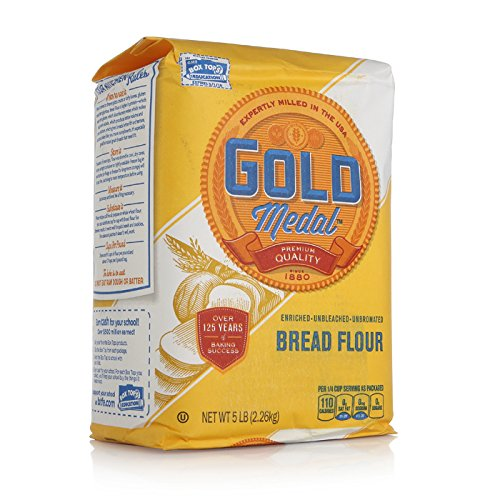 Gold Medal Unbleached Flour - Better for Bread - 5 lb ...