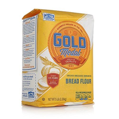 Gold Medal Unbleached Flour - Better for Bread - 5 lb ...