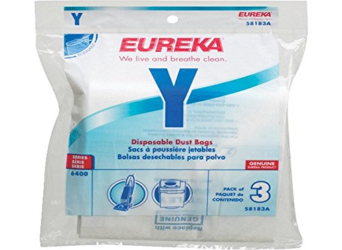 Eureka Upright Type Y Excalibur Paper Bags 3 Pk # 58183a-6,58183a (Eureka 58183a compare prices)