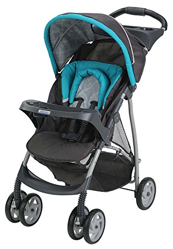 New Graco Click Connect Literider Stroller, Finch