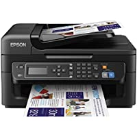 Epson WorkForce WF-2630 Wireless Color Inkjet All-in-One Printer with Duplex (Black)