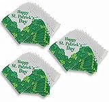 St. Patrick's Day Shamrocks Napkins Set (48 Count)