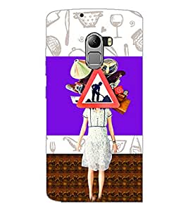 PrintDhaba Abstract Image D-4948 Back Case Cover for LENOVO K4 NOTE A7010a48 (Multi-Coloured)
