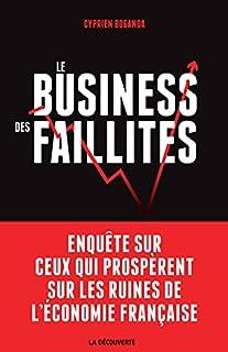 Le business des faillites : enquête sur ceux qui prospèrent sur les ruines de l'économie française, Boganda, Cyprien